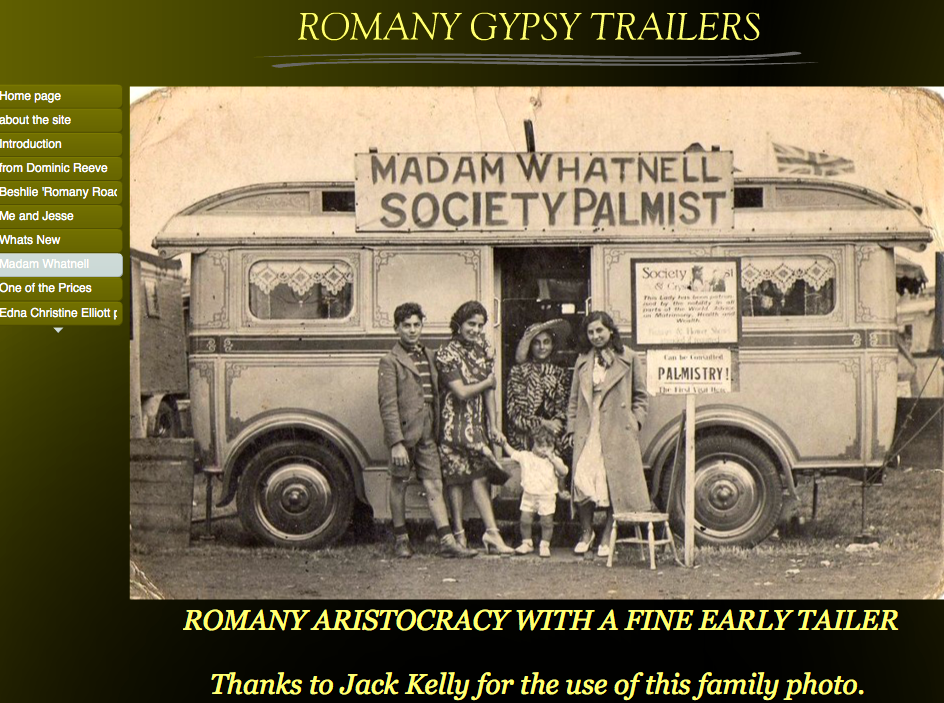Useful links: specialist family history sources   Romany & Traveller
