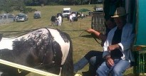 Tony Dixon at Steam Rally