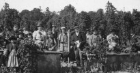 Hop picking home pickers Young and Coooper c 1906