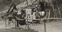 Sussex Gypsies in Arundel 1907